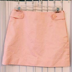 J. CREW pastel pink  skirt